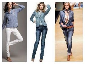 Fotos modelos de camisa jeans feminina 5