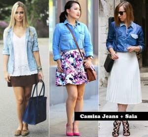 Fotos modelos de camisa jeans feminina 8