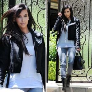 Modelos de jaqueta de couro feminina 11