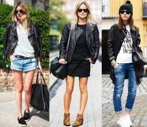 Modelos de jaqueta de couro feminina 12