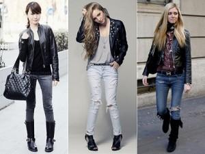 Modelos de jaqueta de couro feminina 5