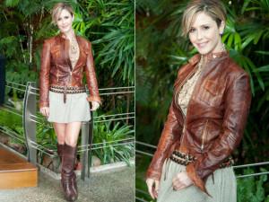 Modelos de jaqueta de couro feminina 9