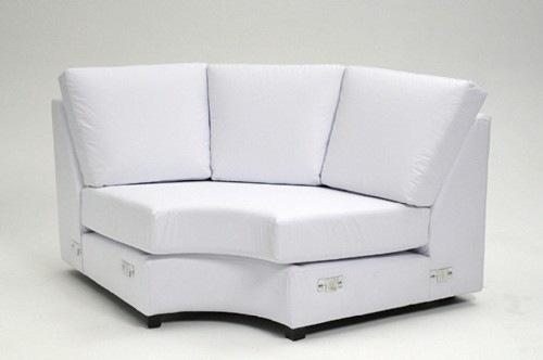 Modelos e fotos sofa de canto pequeno