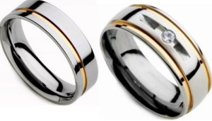 Modelo de anel de compromisso namoro 3