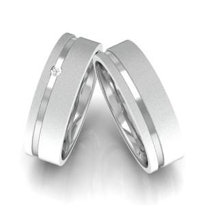 Modelo de anel de compromisso namoro 6