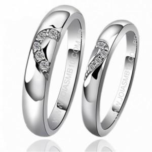 Modelo de anel de compromisso namoro 8