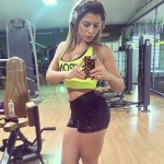 Treino Musculação Feminina – Babi Rossi