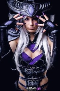 Cosplay Feminino League of Legends 12