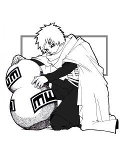 Desenhos para Colorir Pintar do Naruto 11
