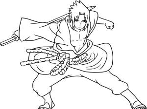Desenhos para Colorir Pintar do Naruto 5