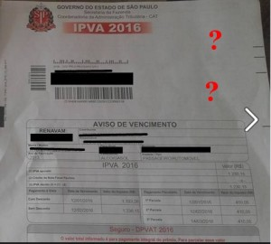 Como Identificar o Golpe do IPVA 2016 4
