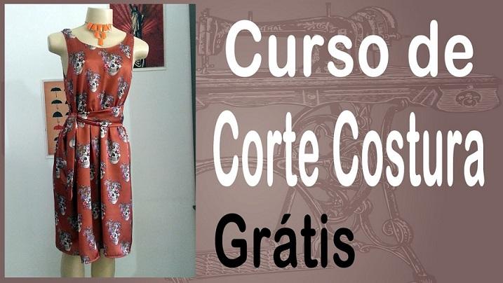 Curso de corte e costura online gratis