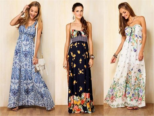 83f46576ad Fotos de Vestidos Longos Para Dia a Dia