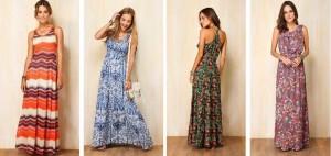Fotos de Vestidos Longos Para Dia a Dia 5