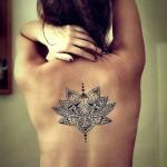Fotos e ideias Tatuagem Feminina nas Costas