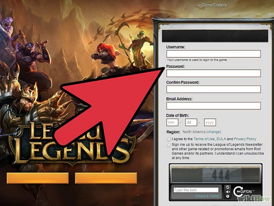 Como criar conta lol League of Legends