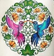 livro de colorir antiestresse