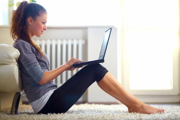 Trabalhar em casa atraves da Internet