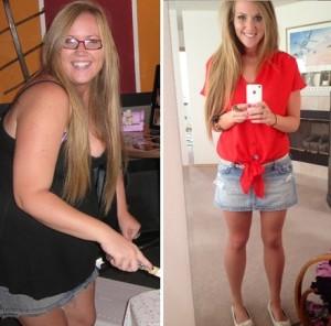 Antes e depois da Academia de Mulheres 12
