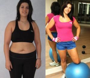 Antes e depois da Academia de Mulheres 14
