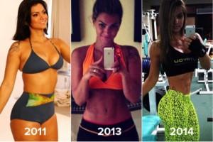 Antes e depois da Academia de Mulheres 3