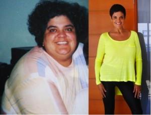 Antes e depois da Academia de Mulheres 4