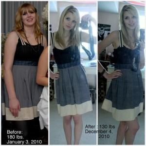 Antes e depois da Academia de Mulheres 8