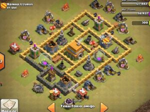 Clash of clans Layout para guerra 10