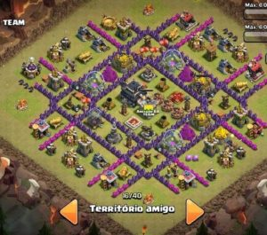 Clash of clans Layout para guerra 11