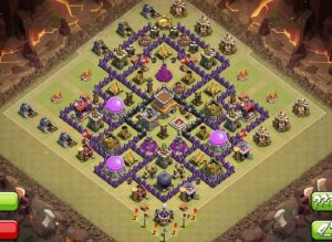 Clash of clans Layout para guerra 4