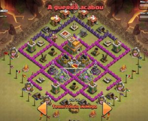 Clash of clans Layout para guerra 5