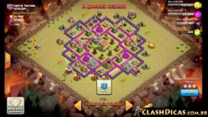 Clash of clans Layout para guerra 7