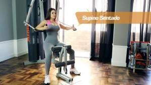 Exercicios para estação de Musculação 2