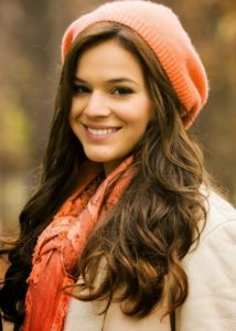 Modelos de toucas de inverno Femininas 10