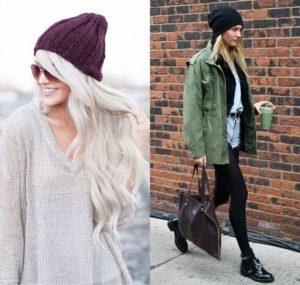 Modelos de toucas de inverno Femininas 11