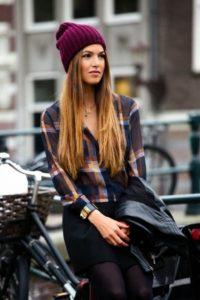 Modelos de toucas de inverno Femininas 2