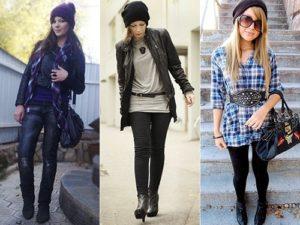 Modelos de toucas de inverno Femininas 6