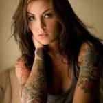 Fotos de tatuagens femininas no braço