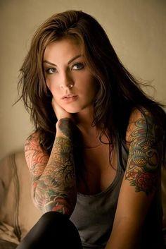 Fotos de tatuagens femininas no braço 2