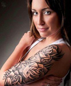 Fotos de tatuagens femininas no braço 3