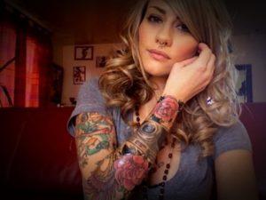 Fotos de tatuagens femininas no braço 4