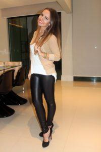 Moda feminina Fotos de Legging preta 7