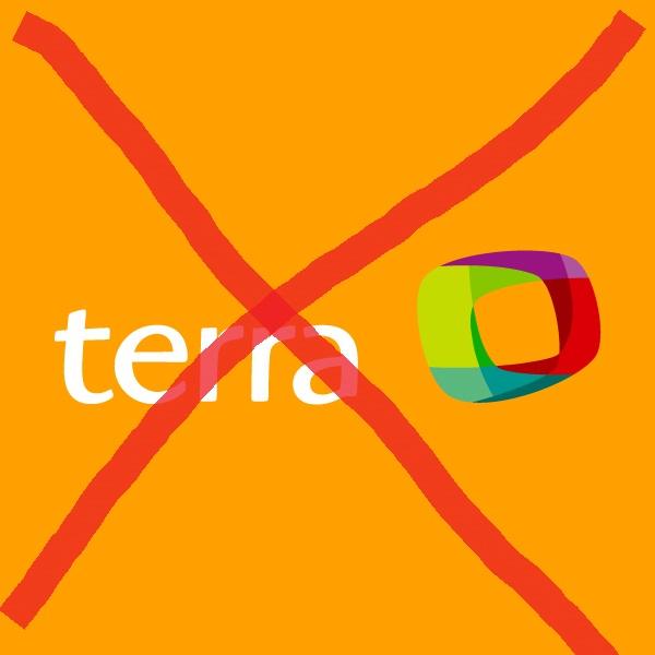 Problema com internet banda larga TERRA