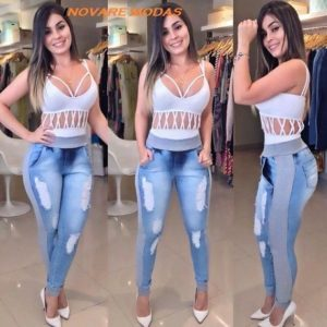 Fotos de modelos calca jeans feminina 11