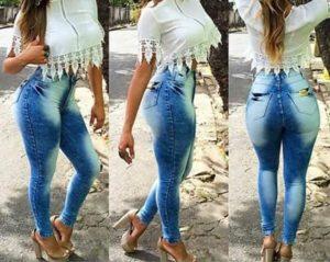 Fotos de modelos calca jeans feminina 9