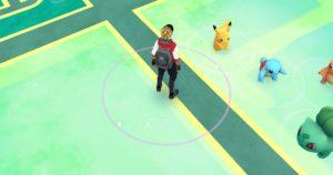 Pokemon GO Pikachu como primeiro pokemon 2