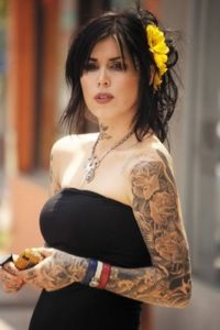 Fotos tatuagem no braco inteiro feminina 4