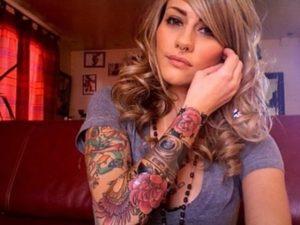 Fotos tatuagem no braco inteiro feminina 5