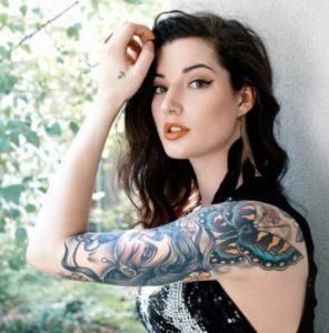 Fotos tatuagem no braco inteiro feminina 7