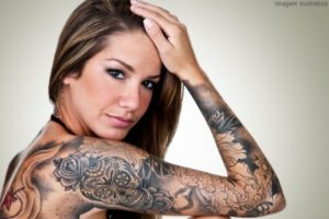 Fotos tatuagem no braco inteiro feminina 8